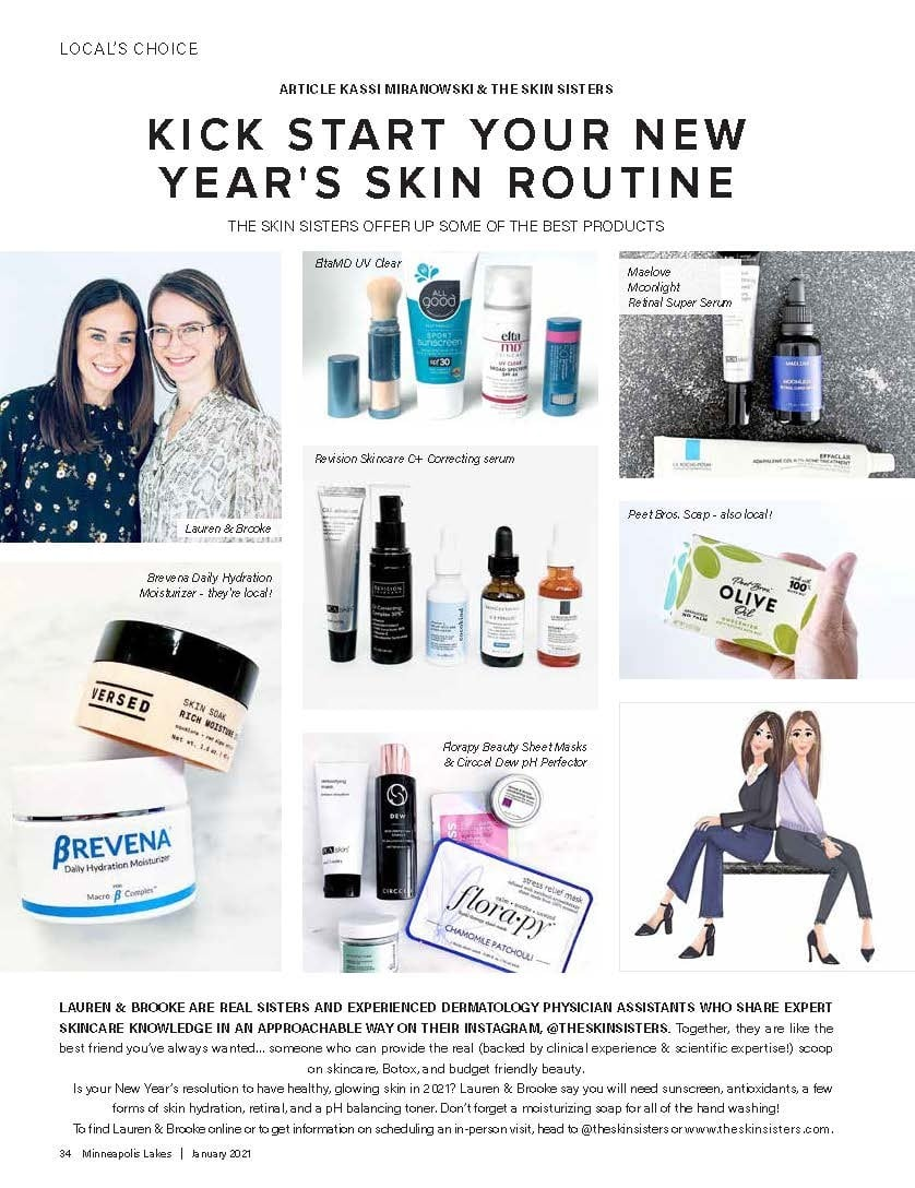 Skin Sisters feature